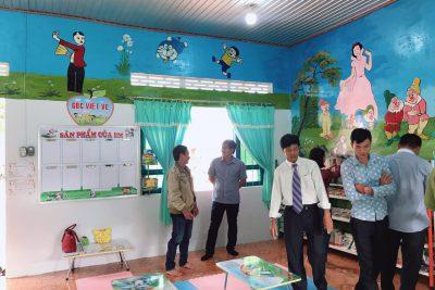 """Khai trương """"Thư viện thân thiện"""" trường tiểu học phan Chu Trinh"""